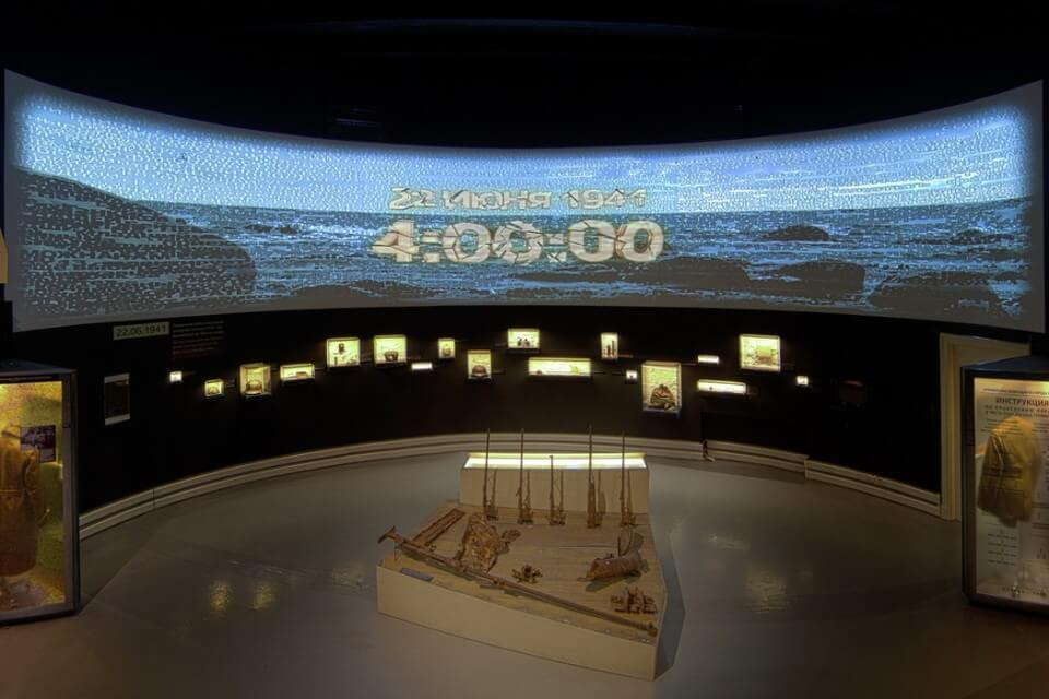 Museo de la Historia Política rusa. Gran Guerra Patriótica