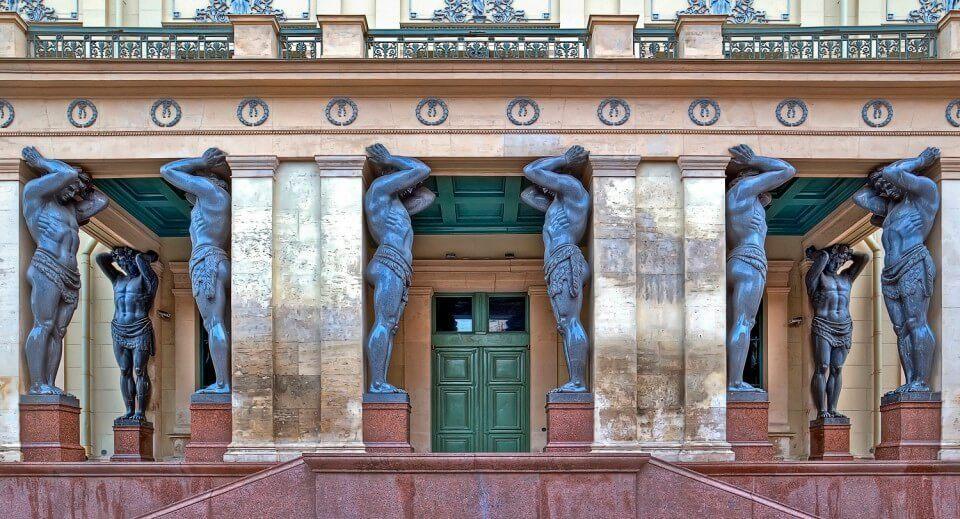 Museum em São Petersburgo. Hermitage