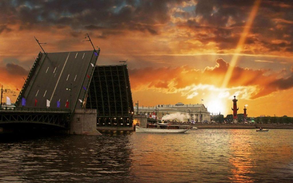Las noches blancas en San Petersburgo