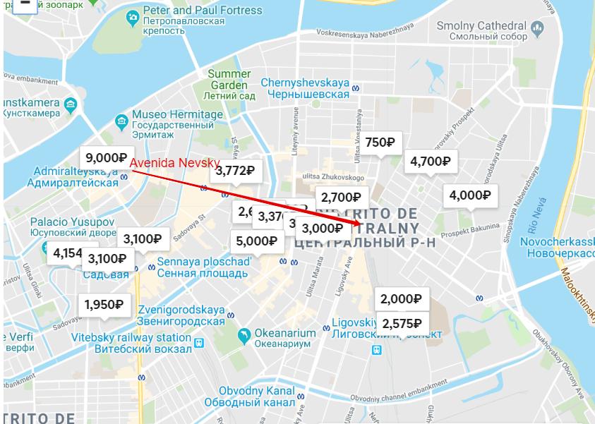 ¿Dónde alojarse en San Petersburgo?
