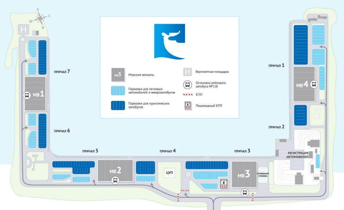 Como ir do porto marítimo ao centro de Saõ Petersburgo?