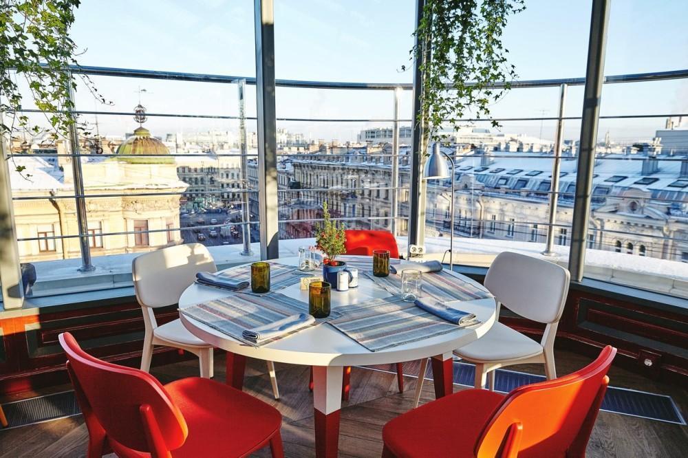 Os melhores restaurantes em São Petersburgo. Gastronomika