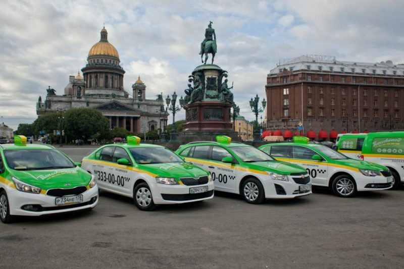 Taxi in St. Petersburg