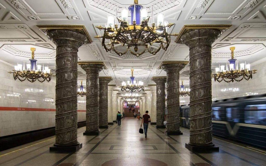 Que ver y hacer en San Petersburgo. Metro