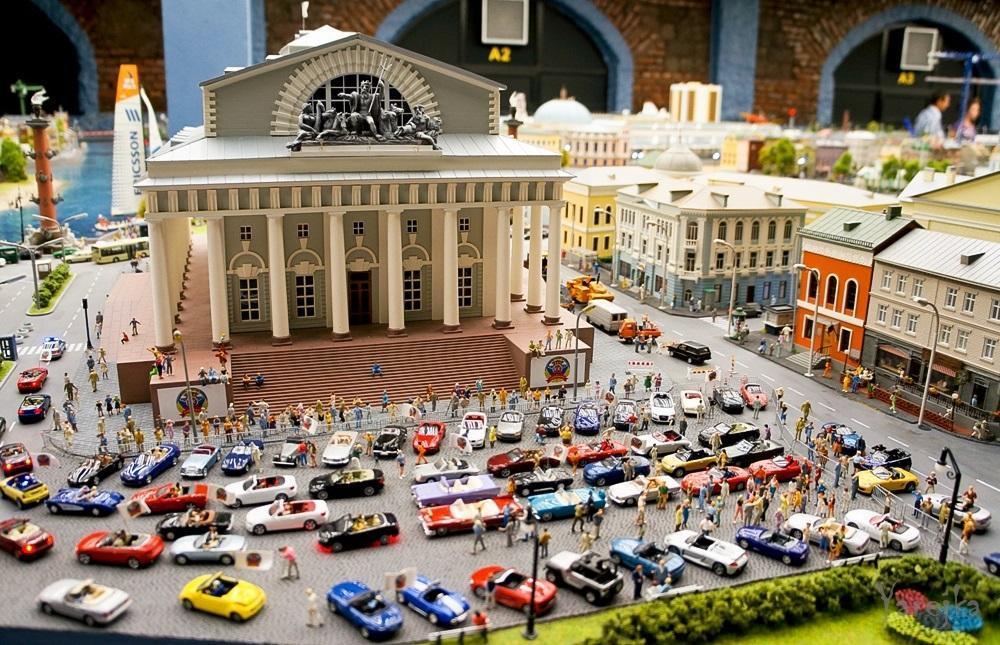 Museos de San Petersburgo. maqueta grande de Rusia
